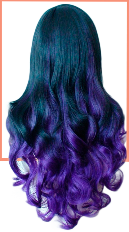 Exclusive Purple Hair Color for Medium and Shoulder Length